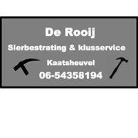 CJ de Rooij Sierbestrating en klusservice