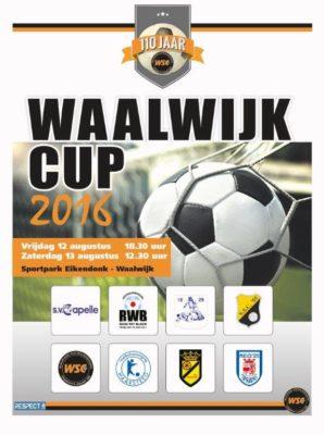 Affiche Waalwijk Cup 2016