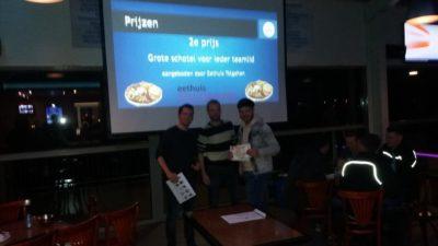 pubquiz S.V. Capelle 2e prijs